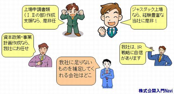 株式公開(上場)コンサルタント